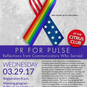 PR For Pulse: Reflections from Communications Who Served @ Citrus Club
