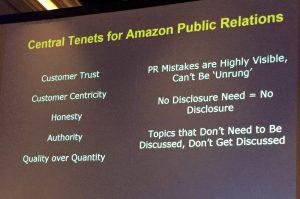 Amazon Tenents