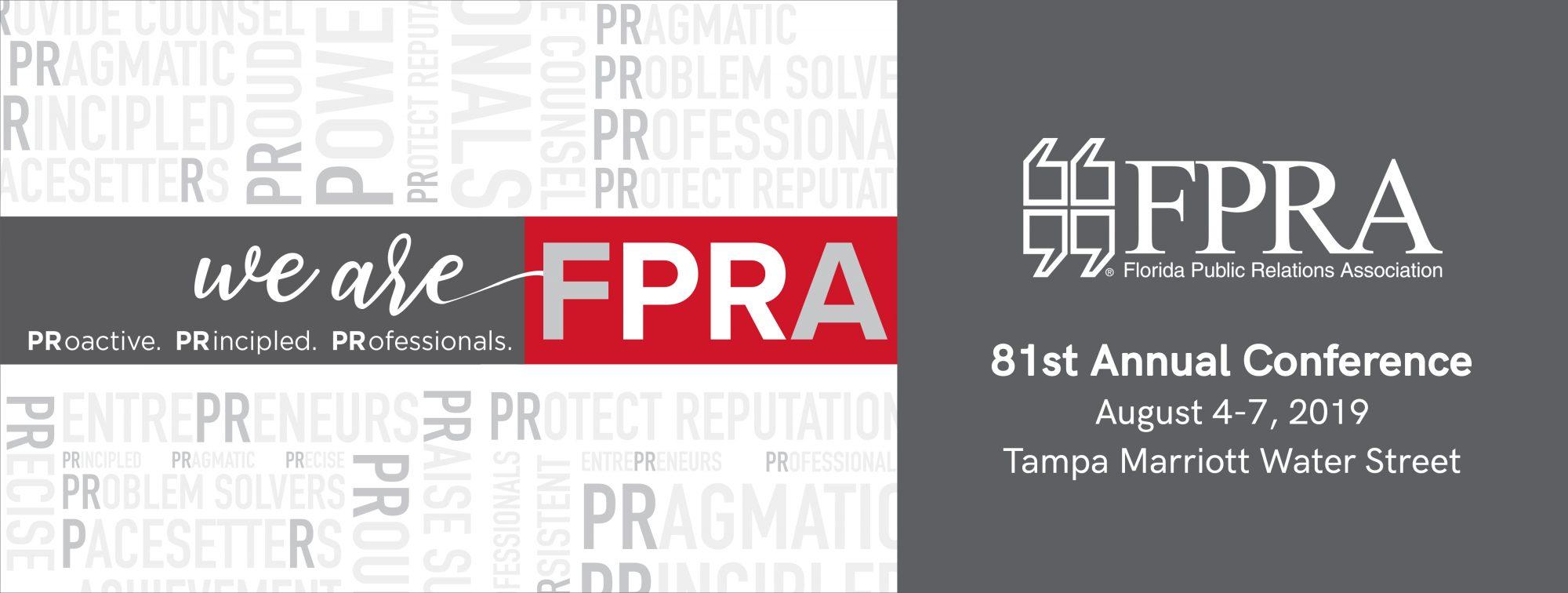 2019 Annual Conference - FPRA