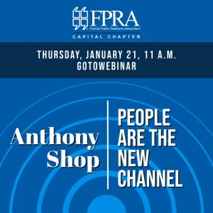 Capital Chapter presents Anthony Shop: People are the New Channel (Webinar) @ GoToWebinar |  |  |